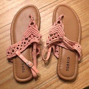Peach torrid Sandals